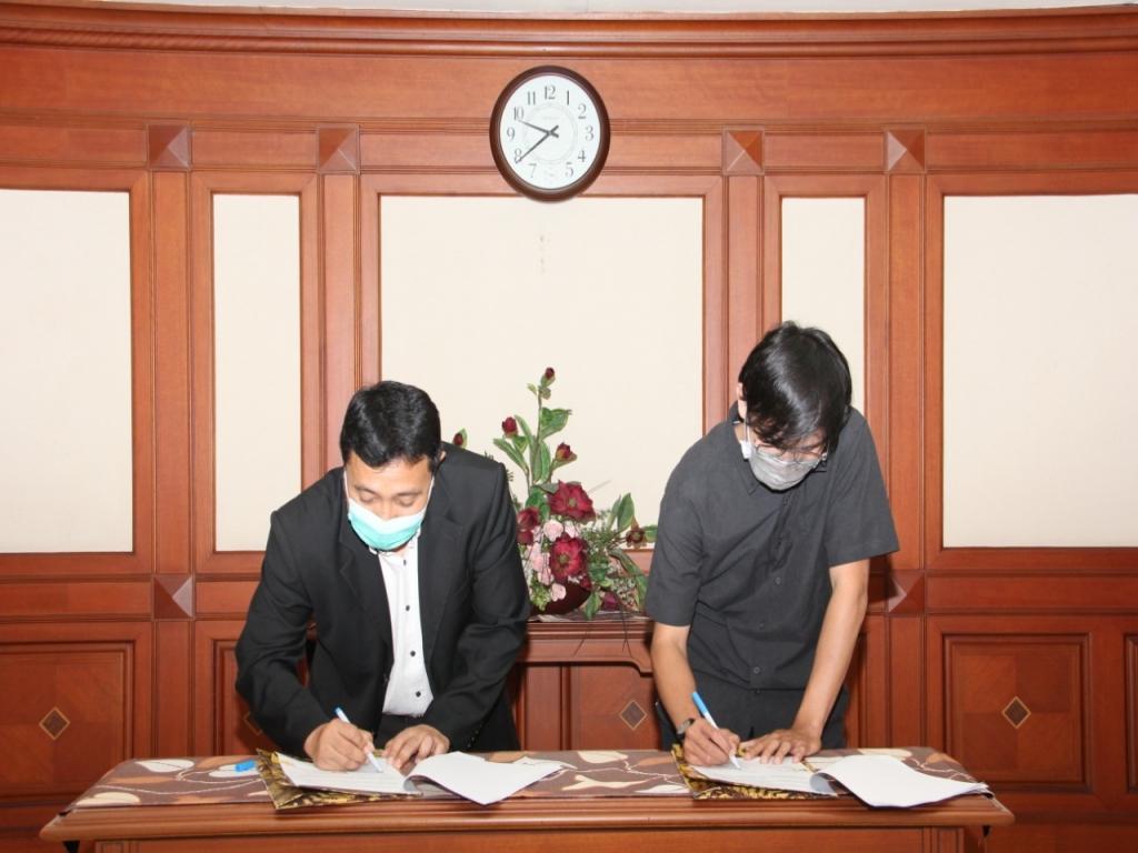 Penandatanganan kontrak kerja sama dilakukan oleh Kepala Kantor Perwakilan BP Batam