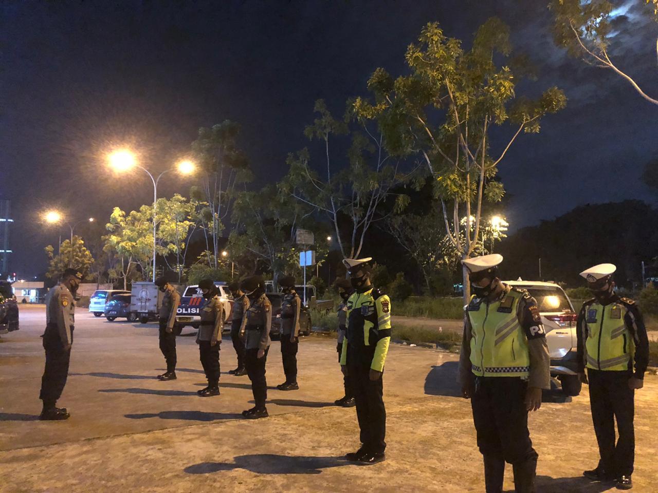 Petugas Operasi Aman Nusa II penanggulangan covid-19 Seligi 2020 (ist)