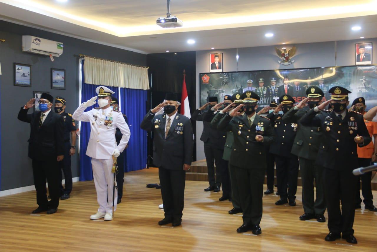 Peringatan HUT TNI ke-75 secara virtual (ist)