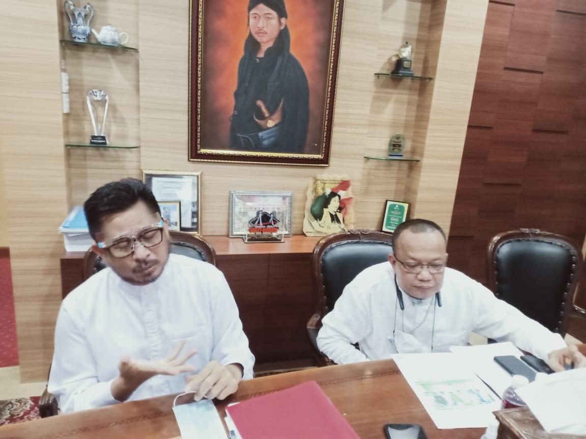 Ketua DPRD Batam, Nuryanto SH (RT)