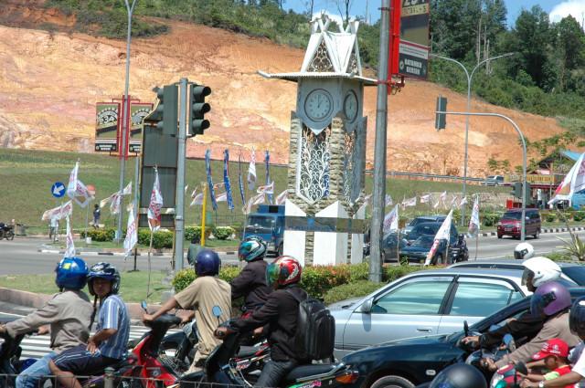 Tugu Simpang Jam(ghazyan.wordpress.com)