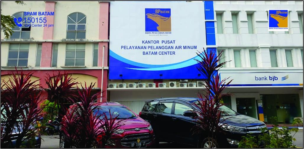 Kantor Pusat Pelayanan Pelanggan Air Minum Batam(bpbatam.go.id/home)