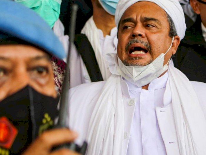 Habib Rizieq Shihab. (Antara Foto)
