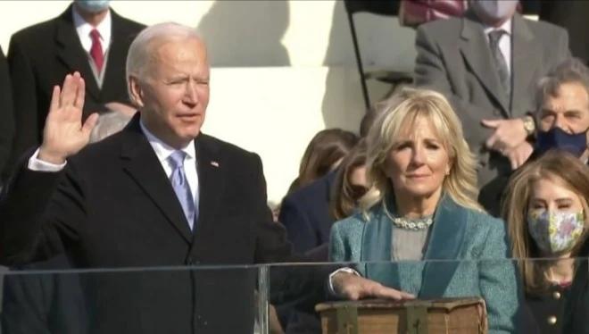 Pelantikan Joe Biden (Twitter)