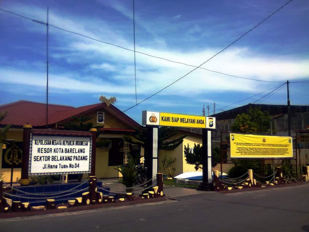 Mapolsek Belakang Padang (ist)