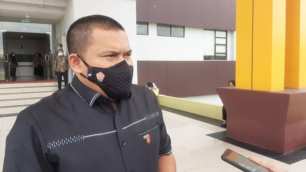 Direskrimum Polda Riau Kombes Teddy (Raja Adil/detikcom)