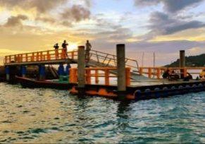Pelabuhan Apung Tambelan(ist)