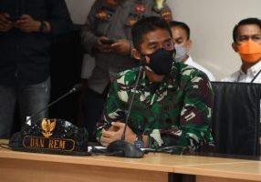 Danrem 033/WP, Brigjend TNI Jimmy Ramoz Manalu. (ist)